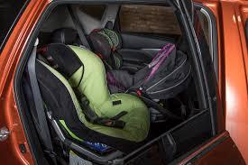2019 nissan murano with three child car seats