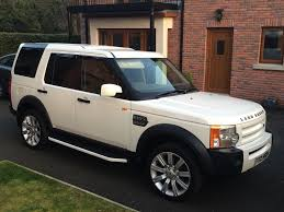 2006 Land Rover Discovery 3 TDV6 S White