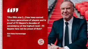 Die fc bayern münchen ag ist ein deutsches fußballunternehmen, das insbesondere die professionelle fußballabteilung des fc bayern münchen betreibt. Looking Forward To A Fifth Star Fc Bayern