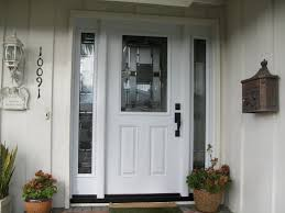 Wondrous Inspration White Front Door With Sidelights