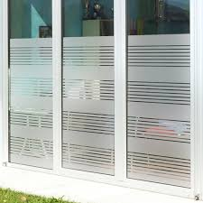 frosted glass office door. Custom Frosted Glass Imitation Shutter Partition Decoration Office Sitting Room Toilet Door Sticker Half The