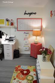 home office makeover. Basement Office Makeover - Make A Large DIY Whiteboard To Hang On Your Wall Home