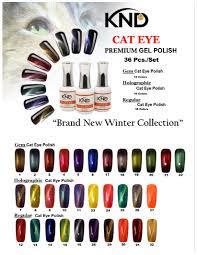 Knd Premium Gel Polish Cat Eye Collection 36 15 Ml Bottles