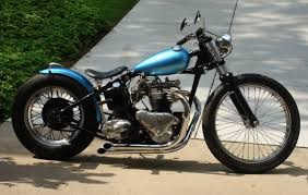 1952 triumph bobber