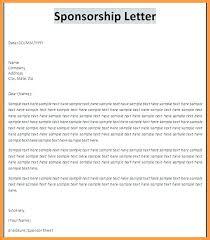 Format Of A Sponsorship Letter Custom Sponsorship Letter For Event 48 Proposal Sample Request Application