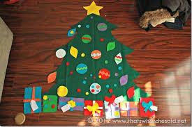 Christmas Felt Tree Tutorial