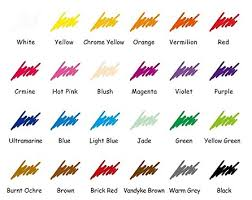 Ohuhu Color Chart Ohuhu Colored Pencils Review Best Colored Pencils