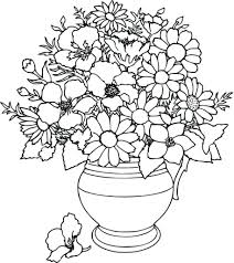 Printable Coloring Pages Of Flowers And Butterflies Butterfly And Flower Coloring Pages For Adults At