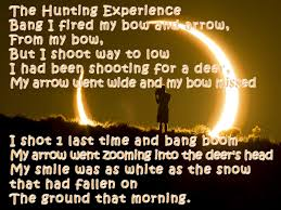 experience best poems with hd wallpapers the hunting experience