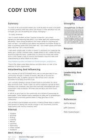 Kitchen Management Resume \ Softballconcentrate.gq