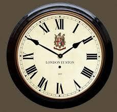 wall clocks uk euston station