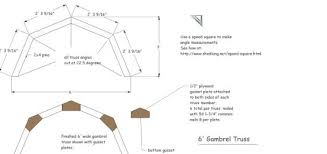 Gambrel Shed Plans With Loft RoofGambrel Roof Plans