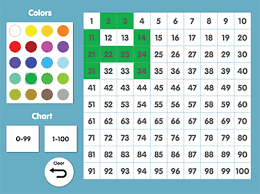 Abcya Hundreds Chart Game Abcya Interactive Number Chart Use To Learn Number