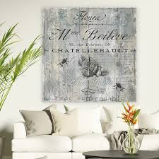 standard return policy  on standard wall art sizes with shop signs of paris ii premium gallery wrapped canvas wall art
