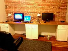 how to arrange an office. Two Person Workstation With Divider Desk Home Office How To Arrange Desks In An Ikea Storage T
