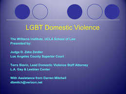 Lgbt Domestic Violence Powerpoint