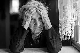 Image result for pictures of sad elderly parentseople