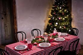 natural holiday dining table ideas