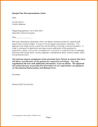 4 Example Of Recommendation Letter Assembly Resume