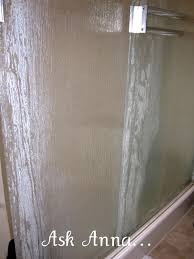 Shower Door clean shower door photographs : How to Clean Shower Door Soap Scum, #1 Bar Keepers Friend {Powder ...