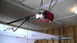 installing a garage door openerInstall Garage Door Opener Low Ceiling  How To Install Garage