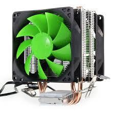 Dual Fan Hydraulic <b>CPU Cooler</b> Cooling Fans Heatpipe Heatsink ...