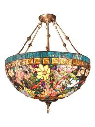 stained glass hanging light lamp full image for lamps antique fixtures