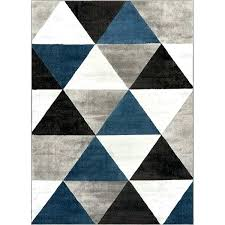 grey geometric rug well woven crystal mid century modern blue black area 5 large grey geometric rug exotic to view larger runner