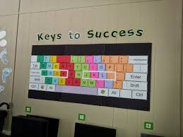 computer lab bulletin board ideas for elementary students. My Giant Keyboard Will Stay This Year. I Would Love To Reprint It In New Colors Match Theme, But Think Do That Next Summer! Computer Lab Bulletin Board Ideas For Elementary Students L
