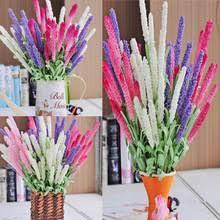 1 <b>букет</b>, 12 головок, живой искусственный <b>букет цветов</b> лаванды ...