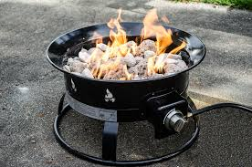 portable gas fire pit cepagolf outland firebowl deluxe portable firepit from costco propane