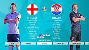 PES 2021 | England vs Croatia - Euro ...