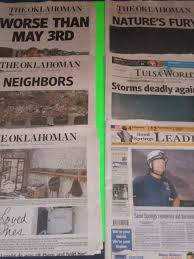 Image result for 2013 Moore Tornado newspapers