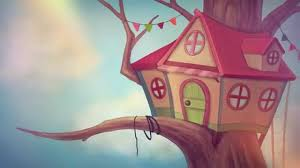 how to draw a treehouse step by step. Simple Draw Inside How To Draw A Treehouse Step By