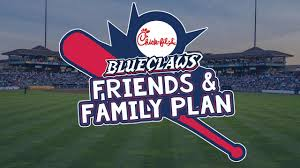 Blueclaws Stadium Seating Chart Blueclaws Chick Fil A Launch Friends Family Plan
