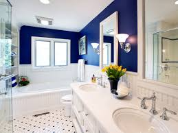 Blue Brown Bathroom Decorating Ideas Top Blue Bathroom Paint Blue for  proportions 4356 X 3267