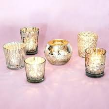 silver mercury glass candle holders pillar uk best of show holder set 6