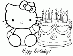 Get free printable birthday coloring pages today! Printable Happy Birthday Coloring Pages Coloring Me Coloring Home