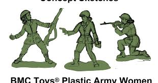 Missing in action: <b>Classic</b> green <b>Army men</b> still have no women ...
