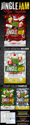 jingle jam christmas party flyer templates by creativb graphicriver jingle jam christmas party flyer templates clubs parties events