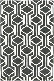 black and white geometric rug area at studio l runner black and white geometric rug