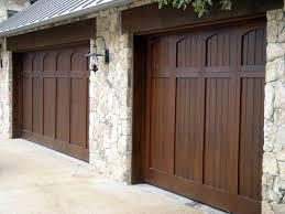 cowart door custom wood garage doors mediterranean garage