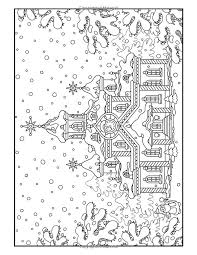 Small Picture 318 best Christmas coloring pages images on Pinterest Drawings