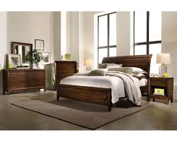 napa sleigh storage bedroom set in cherry aspen furniture aspen home furniture cambridge bedroom set