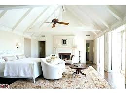 White Bedroom Ceiling Fan Contemporary Master ...
