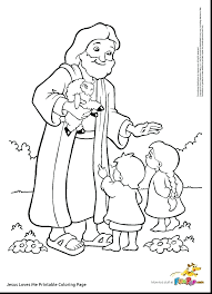 Jesus Loves Me African American Coloring Pages For Kids With