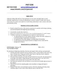 Free Download Sample Resume Objective Examples Non Profit Resume