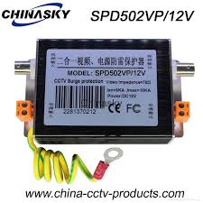cctv 12v power supply lightning protection devices spd502vp 12v 1