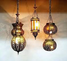 moroccan style lighting. Moroccan Style Lighting Outdoor Brass Lantern Hanging Nights Lights Inspired