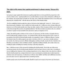 conclusion of death penalty essay pro speech presentation  conclusion of death penalty essay pro